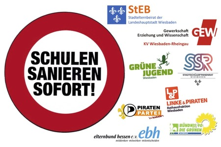 Online-Petition: Sanierungsstau an Wiesbadener Schulen abbauen